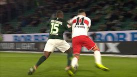 2. Halbzeit: VfL Wolfsburg - VfB Stuttgart