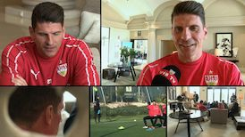 Interview-Marathon mit Mario Gomez in La Manga