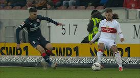 1. Halbzeit: VfB Stuttgart - 1. FSV Mainz 05