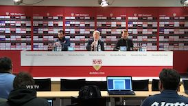 Pressekonferenz: VfB Stuttgart - 1. FSV Mainz 05