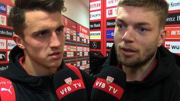 Die Interviews nach dem Spiel gegen den 1. FSV Mainz 05