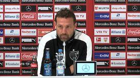 Die Pressekonferenz vor dem Spiel beim FC Bayern München