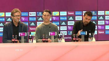 Pressekonferenz: FC Bayern München - VfB Stuttgart