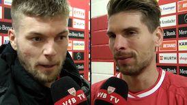 Die Interviews nach dem Spiel gegen Freiburg