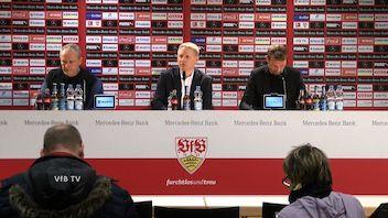 Pressekonferenz: VfB Stuttgart - SC Freiburg