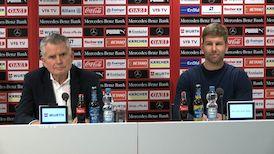 Die PK mit Wolfgang Dietrich und Thomas Hitzlsperger