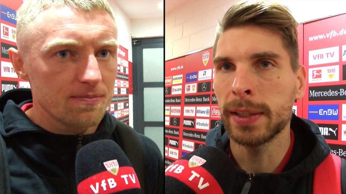 Die VfB Interviews nach dem Heimspiel gegen Leipzig
