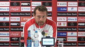 Die Pressekonferenz vor dem Spiel in Bremen