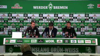 Pressekonferenz: SV Werder Bremen - VfB Stuttgart