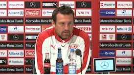 Die PK vor dem Heimspiel gegen Hannover