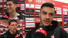 Die Interviews nach dem Heimspiel gegen Hannover 96