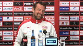 Die Pressekonferenz vor dem Spiel beim BVB