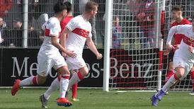 U19: DFB-Pokal-Halbfinale VfB - SC Freiburg