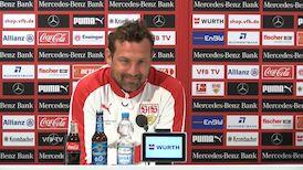 Die Pressekonferenz vor Eintracht Frankfurt - VfB