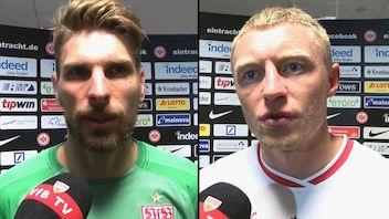 Die Interviews nach dem Spiel bei Eintracht Frankfurt