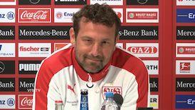 Die Pressekonferenz vor dem VfBfairplay Spieltag gegen Nürnberg