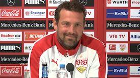 Die PK vor dem Heimspiel gegen Bayer Leverkusen
