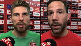 Die Interviews nach dem Heimspiel gegen Leverkusen
