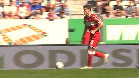 1. Halbzeit: FC Augsburg - VfB Stuttgart