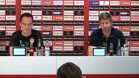 Die Pressekonferenz mit Thomas Hitzlsperger und Nico Willig
