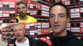 Die Interviews nach dem Spiel gegen Borussia Mönchengladbach