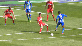 1. Halbzeit: Hertha BSC - VfB Stuttgart