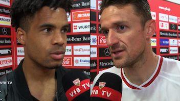 Die Interviews nach dem Spiel gegen den VfL Wolfsburg