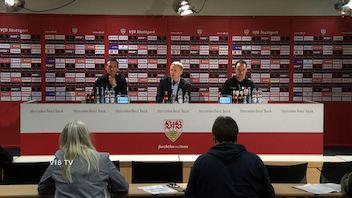 Pressekonferenz: VfB Stuttgart - VfL Wolfsburg