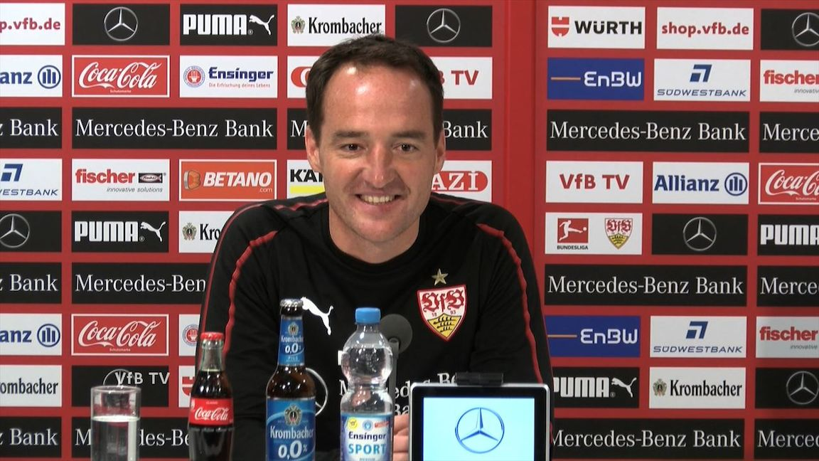 Die PK vor dem Relegations-Heimspiel gegen Union Berlin