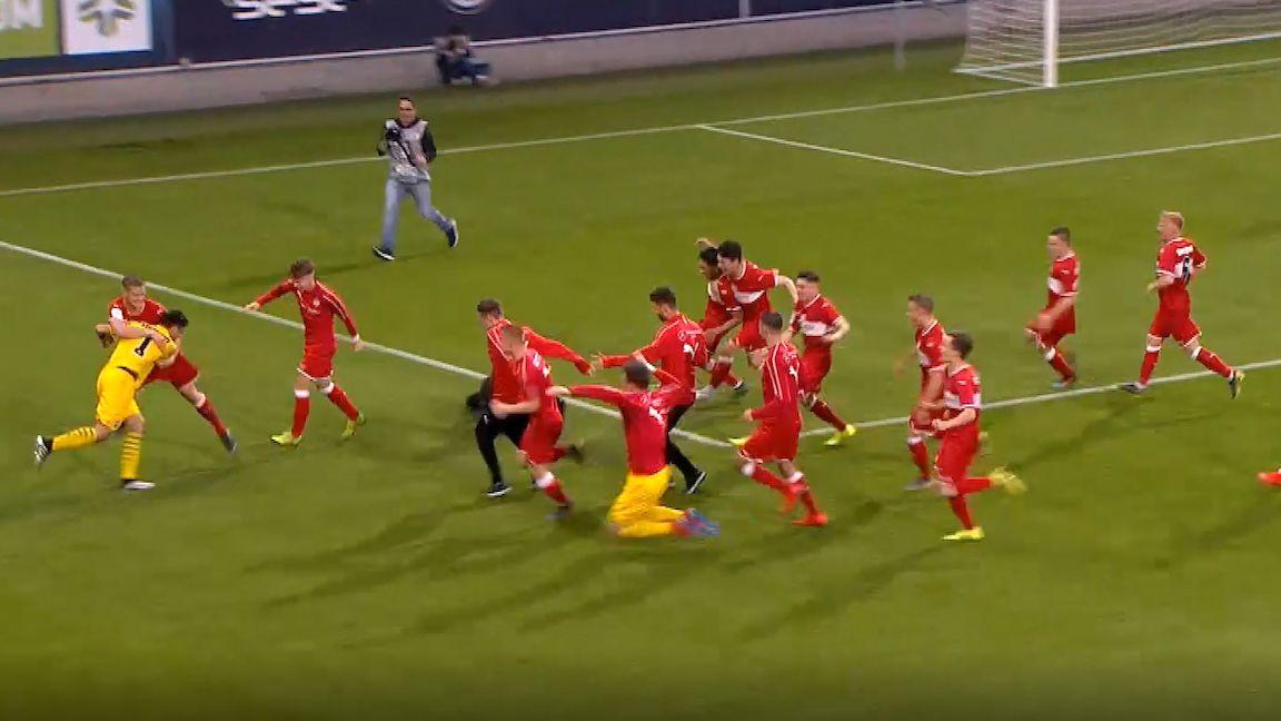U19-Halbfinal-Rückspiel: VfL Wolfsburg - VfB Stuttgart