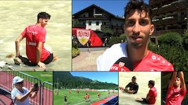 Atakan Karazor nach der ersten Kitzbühel Trainingseinheit