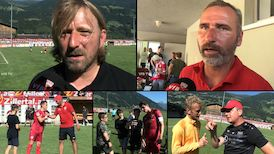 Trainingslager-Fazit: Sven Mislintat und Tim Walter