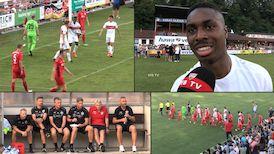 Testspiel: TSG Backnang - VfB Stuttgart