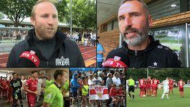 Die Interviews nach dem VfB Testspiel gegen den FC Zürich