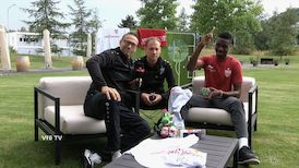 Trainingslager-Talk mit Maxime Awoudja