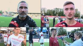 Die Interviews nach dem Testspiel in Winterthur