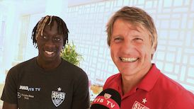 VfB Neuzugang Tanguy Coulibaly im Interview