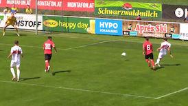 2. Halbzeit: VfB - SC Freiburg