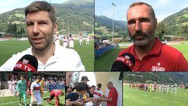 Die Interviews nach dem 120-Minuten Test gegen den SC Freiburg