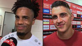 Die Interviews nach dem Heimspiel gegen Hannover