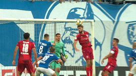 2. Halbzeit: Hansa Rostock - VfB Stuttgart