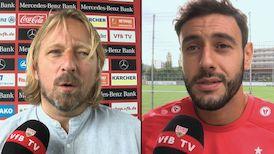 Die Interviews nach dem Pokalspiel in Rostock