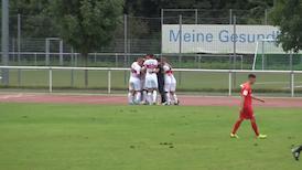 Highlights U19: Kickers Offenbach - VfB Stuttgart
