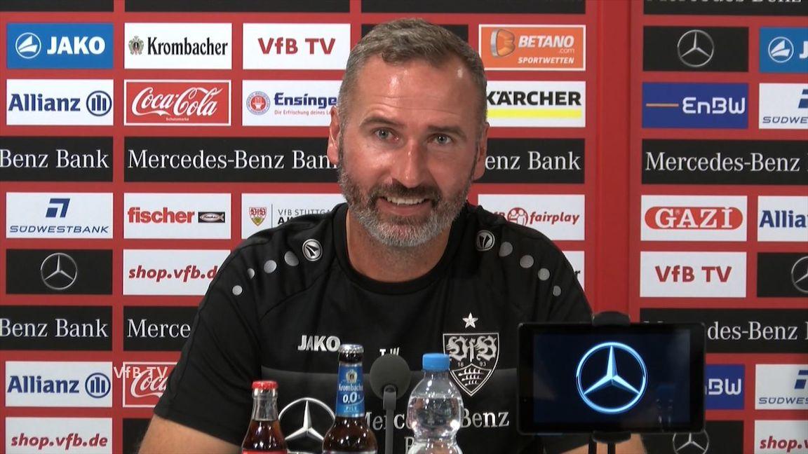 Die Pressekonferenz vor dem Auswärtsspiel in Aue