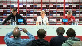 Pressekonferenz: VfB Stuttgart - VfL Bochum