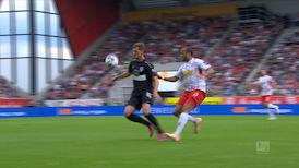 1. Halbzeit: Jahn Regensburg - VfB Stuttgart