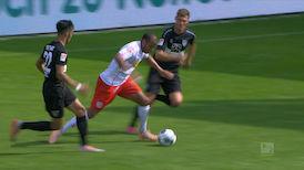 2. Halbzeit: Jahn Regensburg - VfB Stuttgart