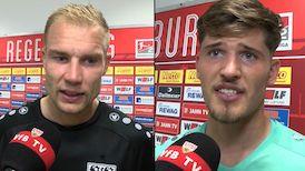 Die Interviews nach dem Spiel beim SSV Jahn Regensburg