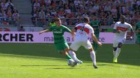 1. Halbzeit: VfB Stuttgart - Greuther Fürth