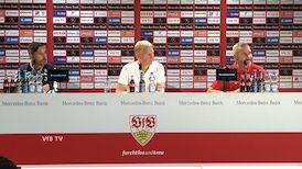 Pressekonferenz: VfB Stuttgart - SpVgg Greuther Fürth